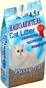 Pussy-Cat - Наполнитель впитывающий цеолитовый для кошек