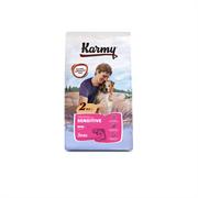 Karmy - Сухой корм для взрослых собак мелких пород с чувствительным пищеварением (с лососем) Mini Adult SENSITIVE