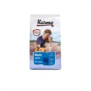 Karmy - Сухой корм для щенков крупных пород (с телятиной) MAXI JUNIOR