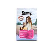 Karmy - Сухой корм для взрослых кошек с чувствительным пищеварением (с индейкой) SENSITIVE