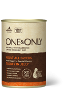 One&Only – Консервы для взрослых собак (c индейкой)