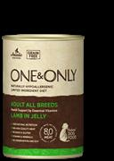 One&Only – Консервы для взрослых собак (c ягненком)