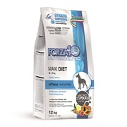 Forza10 - Сухой диетический корм для взрослых собак крупных пород при аллергии (с рыбой) Maxi Diet Pesce