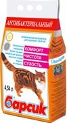 """Барсик - Наполнитель для кошек впитывающий """"Антибактериальный"""""""