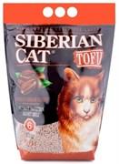 Сибирская кошка - Комкующийся наполнитель для кошек Тофу (кофе)