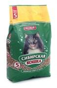 Сибирская кошка - Лесной древесный наполнитель для кошек