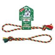 Сибирская кошка - Сибирский Пес игрушка для собаки Грейфер, цветная верёвка кольцо D 10/210 мм