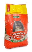 """Сибирская кошка - Впитывающий наполнитель для длинношерстных кошек """"Экстра"""""""