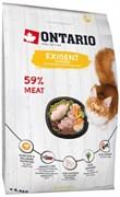 Ontario - Сухой корм для привередливых кошек (с курицей) Cat Exigent