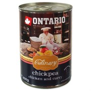 """Ontario - Консервы для собак """"Карри с курицей и нутом"""" Culinary Chickpea, Chicken and Curry"""