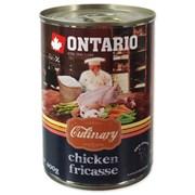 """Ontario - Консервы для собак """"Куриное фрикасе"""" Culinary Chicken Fricasse"""