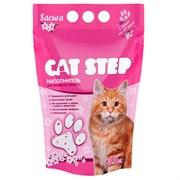 Cat Step - Впитывающий силикагелевый наполнитель для кошек Crystal Pink