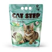 Cat Step - Комкующийся растительный наполнитель для кошек Tofu Green Tea