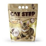 Cat Step - Комкующийся растительный наполнитель для кошек Tofu Original
