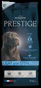 Flatazor - Сухой корм диетический для взрослых собак всех пород, кастрированных и стерилизованных собак PRESTIGE LIGHT/STERILISED