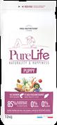 Flatazor - Сухой корм для щенков всех пород (с лососем и белой рыбой) PURE LIFE PUPPY