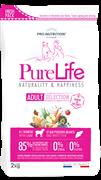 Flatazor - Сухой корм беззерновой для взрослых собак всех пород (с ягненком и белой рыбой) PURE LIFE ADULT SELECTION
