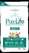 Flatazor - Сухой корм беззерновой для пожилых собак всех пород (с уткой и белой рыбой) PURE LIFE ADULT 7+