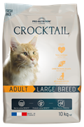Flatazor - Сухой корм для взрослых кошек крупных пород CROCKTAIL ADULT LARGE BREED