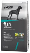 Golosi - Сухой корм для взрослых собак всех пород (с рыбой и рисом) FISH ALL BREEDS