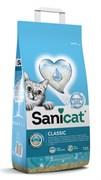 SaniCat - Впитывающий антибактериальный наполнитель для кошек (с активным кислородом и ароматом марсельского мыла)