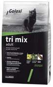 Golosi - Сухой корм для взрослых кошек (с курицей, говядиной и рисом) Tri Mix Adult