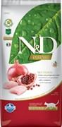 Farmina - Беззерновой корм для стерилизованных кошек (курица с гранатом) N&D Line chicken&pomegrante neutered