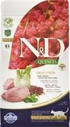 """Farmina - Беззерновой корм """"Чувствительное пищеварение"""" для взрослых кошек (с киноа и ягненком) N&D Quinoa digestion lamb adult"""