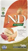 Farmina - Беззерновой корм для взрослых кошек (утка и тыква) N&D Pumpkin duck adult