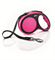 Flexi - Рулетка-ремень для собак, размер L - 5 м до 60 кг (розовая) New Comfort Tape pink - фото 20109